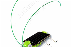 Epoxy resin solar panels for solar toys
